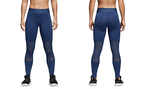 Adidas ID High-Waist Mesh-Inset Leggings - Bloomingdale's_2