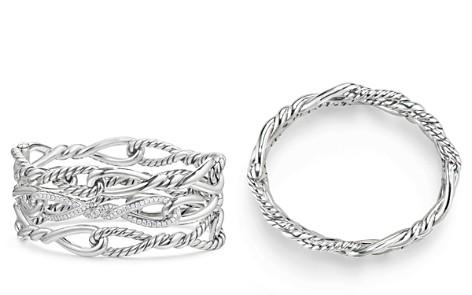 David Yurman Continuance Multi-Row Cuff with Diamonds - Bloomingdale's_2
