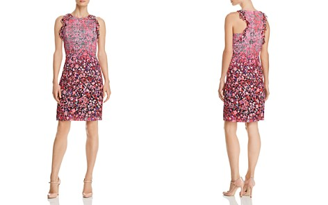 Elie Tahari Carelle Ombré Floral-Print Sheath Dress - Bloomingdale's_2