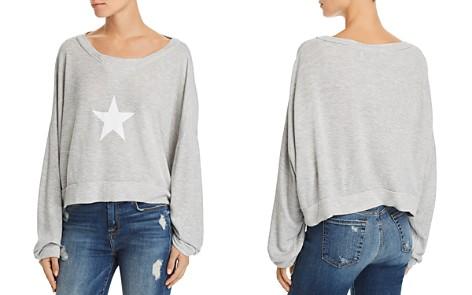 WILDFOX All Star Cropped Sweatshirt - Bloomingdale's_2