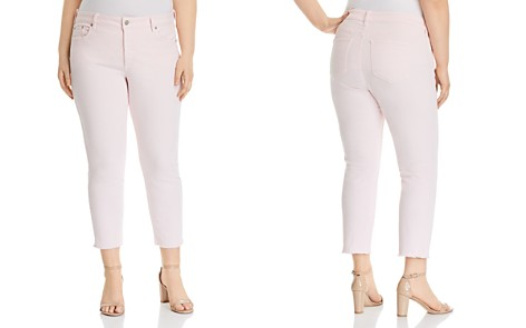 NYDJ Plus Sheri Ankle Slim Jeans in Light Primrose - Bloomingdale's_2