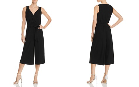 Cupio Crossover V-neck Cropped Jumpsuit - Bloomingdale's_2