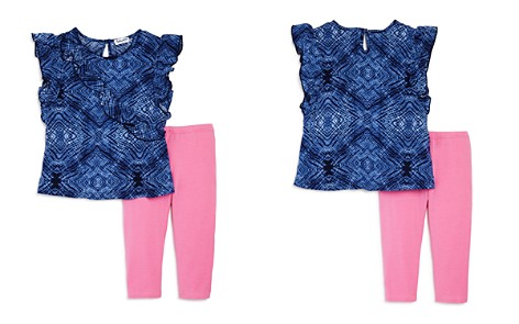 Splendid Girls' Ruffled Top & Leggings Set - Little Kid - Bloomingdale's_2
