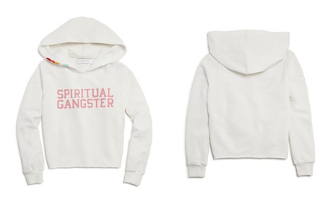 Spiritual Gangster Girls' Terry Varsity Hoodie - Little Kid, Big Kid - Bloomingdale's_2