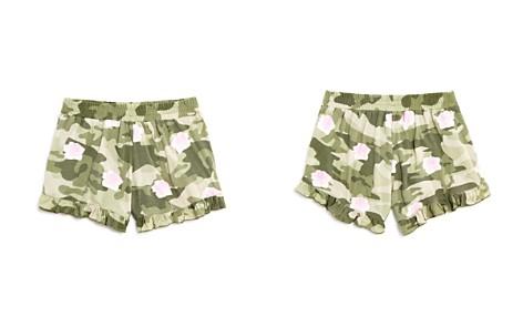 Flowers by Zoe Girls' Rose-Print Camo Shorts - Little Kid - Bloomingdale's_2