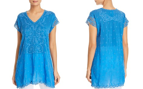 Johnny Was Dani Embroidered Tunic Top - Bloomingdale's_2