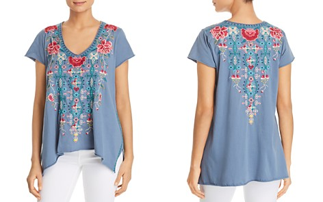 Johnny Was Peta Embroidered Drape Top - Bloomingdale's_2
