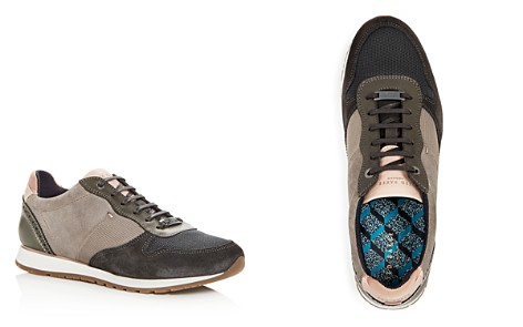 Ted Baker Men's Shindl Suede & Leather Lace Up Sneakers - Bloomingdale's_2