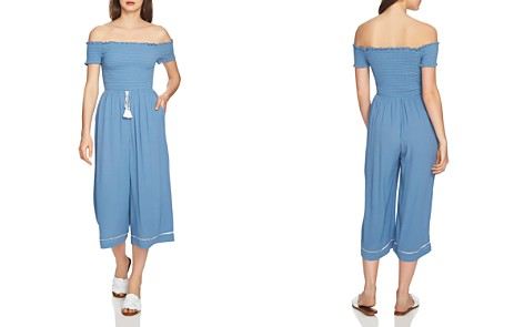 1.STATE Off-the-Shoulder Smocked Jumpsuit - Bloomingdale's_2