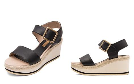 Andre Assous Women's Carmela Leather Platform Wedge Sandals - Bloomingdale's_2