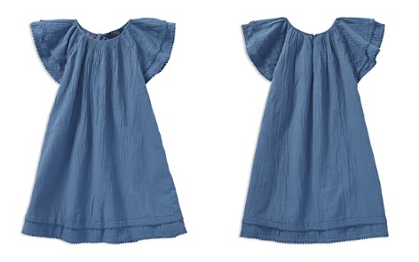 Polo Ralph Lauren Girls' Flutter-Sleeve Dress - Big Kid - Bloomingdale's_2