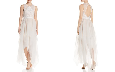 BCBGMAXAZRIA Illusion Tulle Dress - Bloomingdale's_2