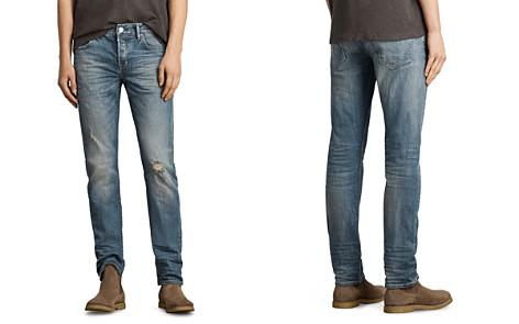 ALLSAINTS Iowa Reed Slim Fit Jeans in Indigo - Bloomingdale's_2