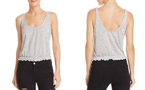 Project Social T Sweet Smocked Striped Tank - Bloomingdale's_2