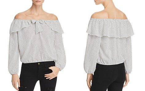 Vintage Havana Polka Dot Off-the-Shoulder Top - Bloomingdale's_2