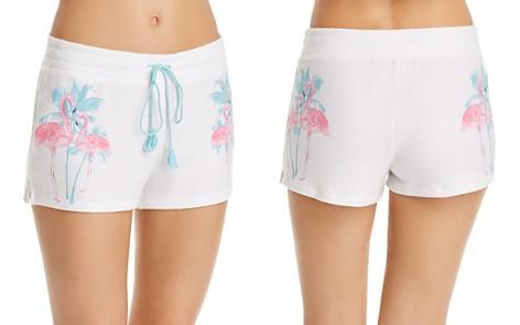 PJ Salvage Flamingo Sleep Shorts - Bloomingdale's_2
