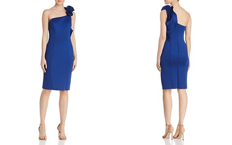 AQUA One-Shoulder Scuba Dress - 100% Exclusive - Bloomingdale's_2
