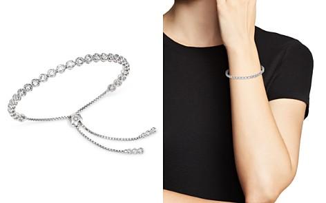 Bloomingdale's Diamond Bezel Bolo Bracelet in 14K White Gold, 3.50 ct. t.w. - 100% Exclusive _2