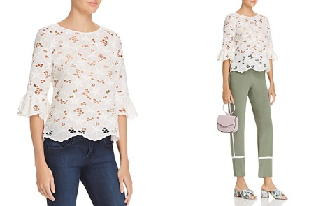 Rebecca Taylor Adriana Lace Top - Bloomingdale's_2