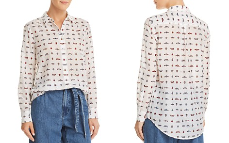 Equipment Essential Insect-Print Shirt - Bloomingdale's_2