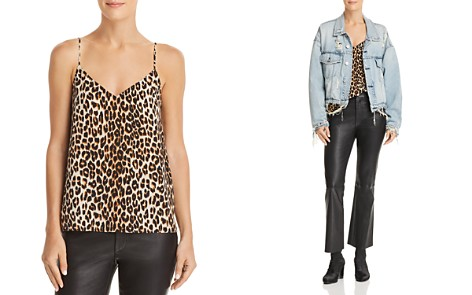 Equipment Layla Leopard Silk Camisole Top - Bloomingdale's_2