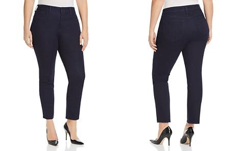 NYDJ Plus Sheri Slim Jeans in Rinse - Bloomingdale's_2