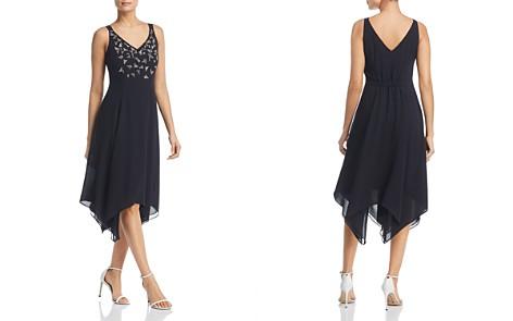 NIC+ZOE Riviera Embroidered Handkerchief-Hem Dress - Bloomingdale's_2