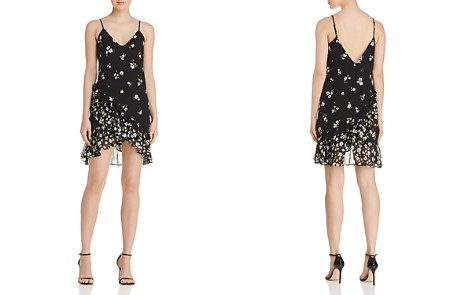 Bardot Ruffled Floral Print Slip Dress - 100% Exclusive - Bloomingdale's_2