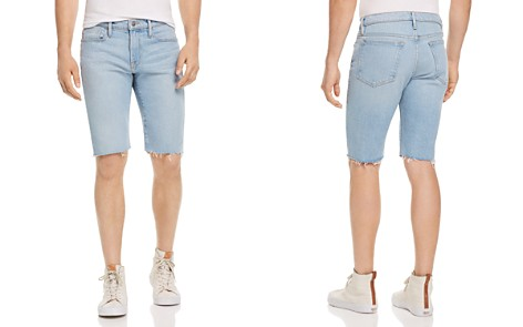 FRAME L'Homme Denim Cutoff Shorts - Bloomingdale's_2