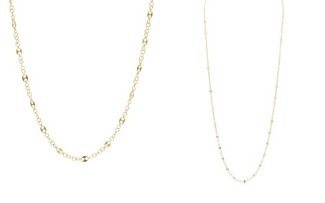 """Argento Vivo Oval Cutout Link Chain Necklace, 36"""" - Bloomingdale's_2"""