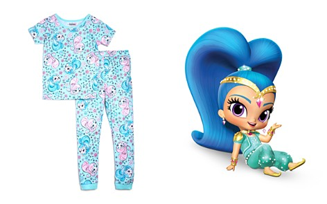 Global Brands x Nickelodeon Girls' Shimmer and Shine© Shirt & Pants Pajama Set, Little Kid - 100% Exclusive - Bloomingdale's_2
