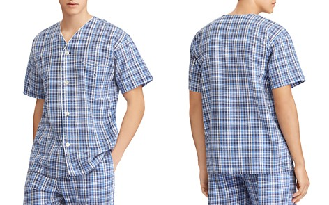 Polo Ralph Lauren Plaid Pajama Top - Bloomingdale's_2