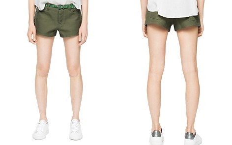 Zadig & Voltaire Suzan Lace-Up Shorts - Bloomingdale's_2