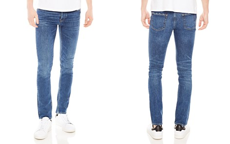 Sandro Pixies Destroy Slim Fit Jeans in Blue Vintage - Bloomingdale's_2
