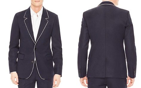 Sandro Notch Slim Fit Cocktail Jacket - Bloomingdale's_2