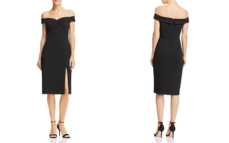 Aidan by Aidan Mattox Off-the-Shoulder Dress - 100% Exclusive - Bloomingdale's_2