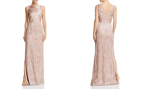 Aidan Mattox Embellished Column Gown - Bloomingdale's_2