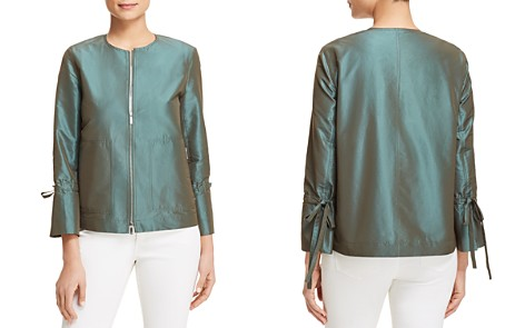 Lafayette 148 New York Johnsie Zip Jacket - Bloomingdale's_2
