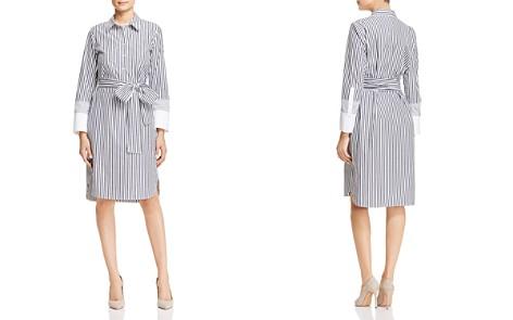 Lafayette 148 New York Fabiola Striped Shirt Dress - Bloomingdale's_2