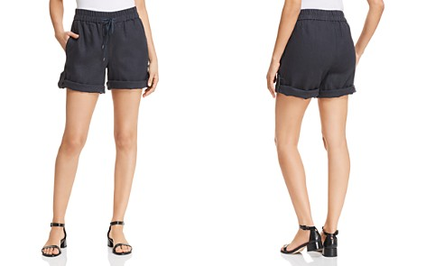 Eileen Fisher Organic-Linen Shorts - Bloomingdale's_2