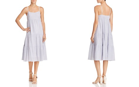 AQUA Seersucker Tiered Dress - 100% Exclusive - Bloomingdale's_2