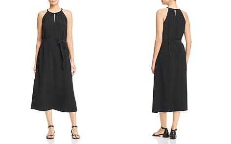 Eileen Fisher Sleeveless Silk Dress - Bloomingdale's_2