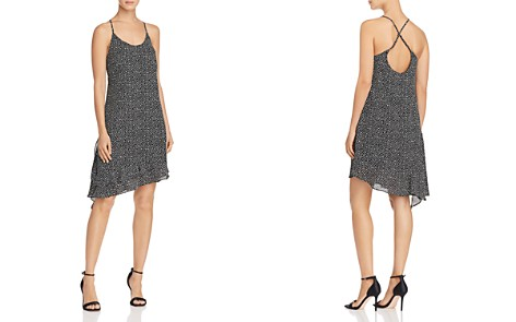 AQUA Ruffled Polka Dot Slip Dress - 100% Exclusive - Bloomingdale's_2