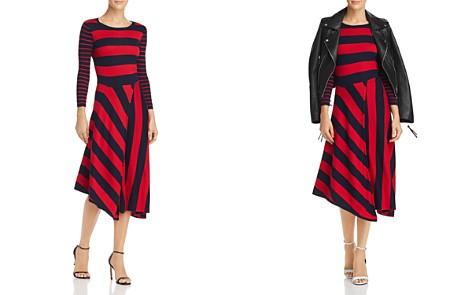 Joie Ecedra Striped Knit Dress - Bloomingdale's_2