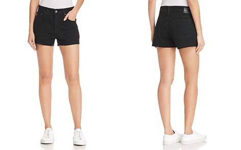 AG Bryn Denim Shorts in 1 Year Black Hawk - Bloomingdale's_2