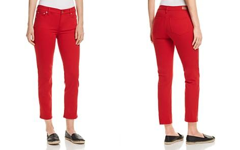 Lauren Ralph Lauren Straight-Leg Cropped Jeans in Red - Bloomingdale's_2