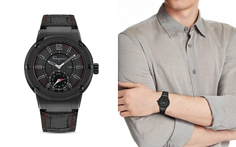 Salvatore Ferragamo F-80 Motion Smartwatch, 44mm - Bloomingdale's_2