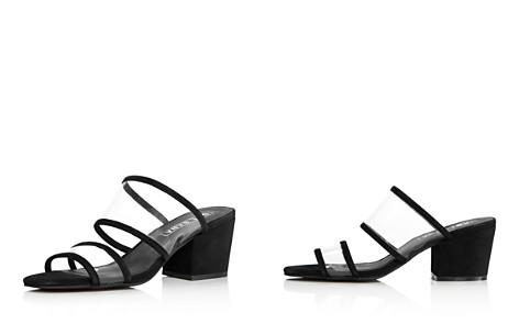 Sol Sana Women's Ziggy Leather Illusion Block-Heel Slide Sandals - Bloomingdale's_2