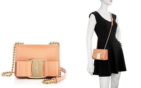 Salvatore Ferragamo Mini Vara Oversized Bow Patent Leather Crossbody - Bloomingdale's_2