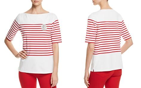 Lauren Ralph Lauren Striped Boatneck Tee - Bloomingdale's_2